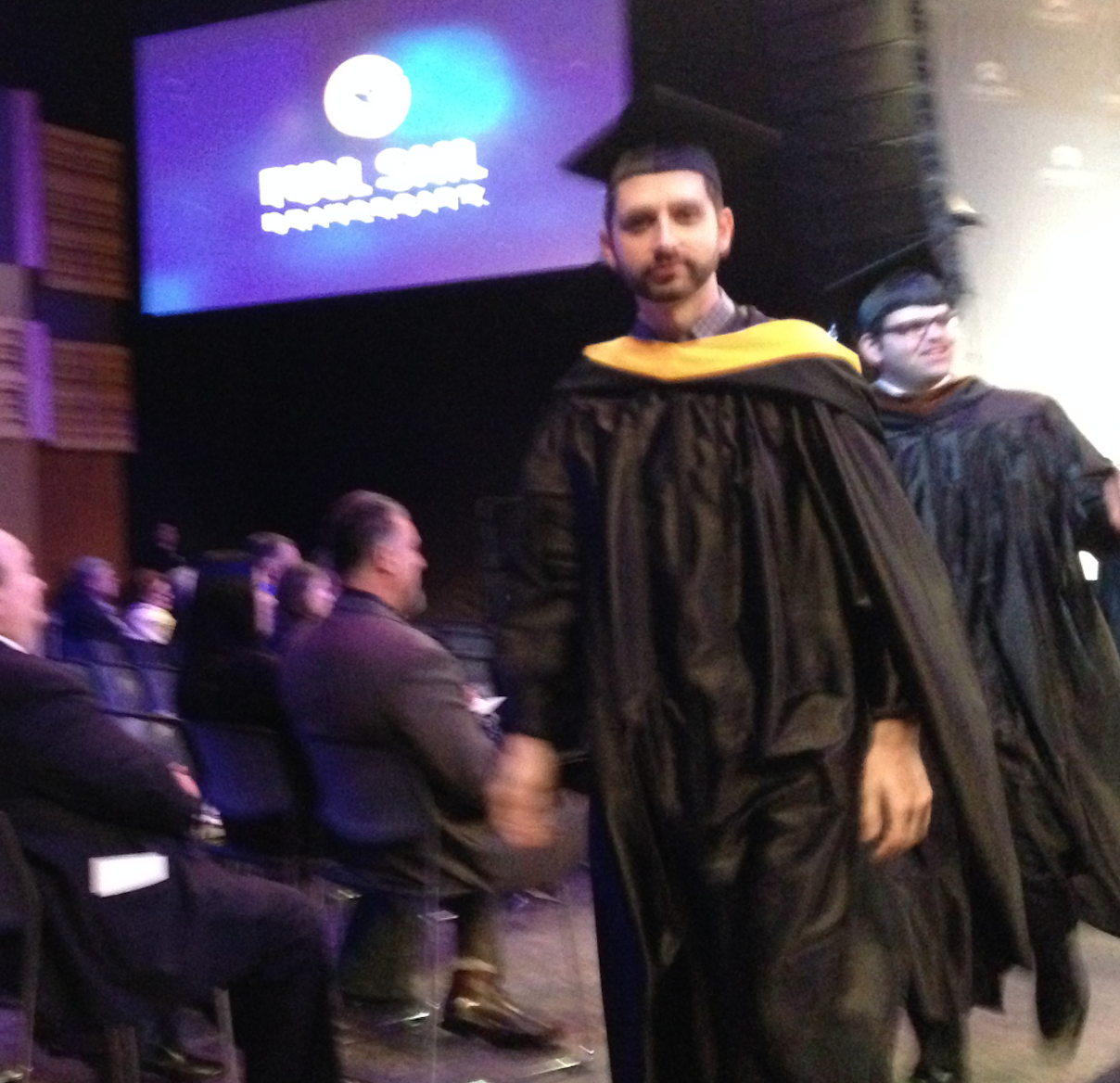 Dan Brown Jr Awarded Valedictorian of His Master's Program!